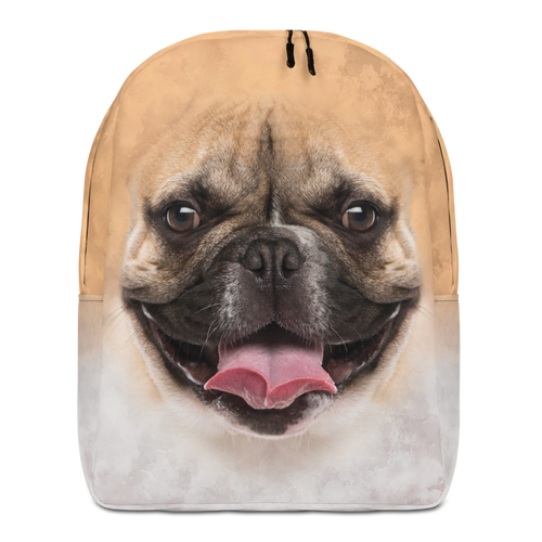 Default Title French Bulldog Minimalist Backpack by Design Express