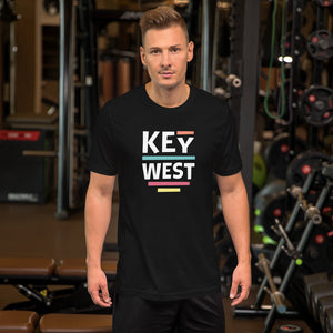 XS Key West Short-Sleeve Unisex T-Shirt by Design Express