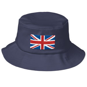 "United Kingdom Flag ""Solo"" Old School Bucket Hat"