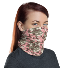 Subdued Pink Camo Neck Gaiter Masks by Design Express