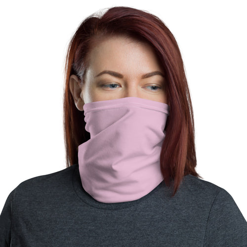 Default Title Baby Pink Neck Gaiter Masks by Design Express