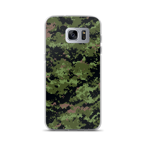 Samsung Galaxy S7 Edge Classic Digital Camouflage Print Samsung Case by Design Express