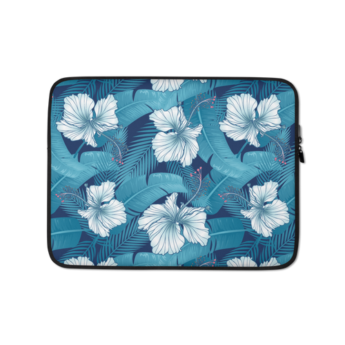 13 in Hibiscus Leaf Laptop Sleeve by Design Express