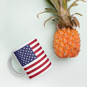"United States Flag ""All Over"" Mug"
