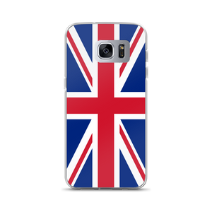 "Samsung Galaxy S7 Edge United Kingdom Flag ""Solo"" Samsung Case Samsung Cases by Design Express"