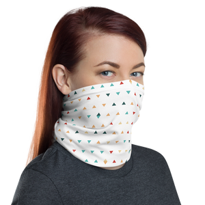 Scattered Triangles Neck Gaiter Masks by Design Express
