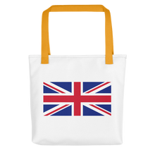 "Yellow United Kingdom Flag ""Solo"" Tote bag Totes by Design Express"