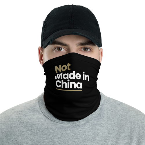 Default Title Not Made In China Neck Gaiter Masks by Design Express