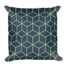 Default Title Diamonds Dark Night Sand Square Premium Pillow by Design Express