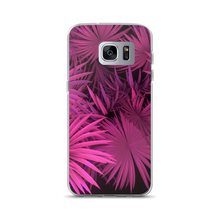 Samsung Galaxy S7 Edge Pink Palm Samsung Case by Design Express