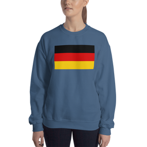Indigo Blue / S Germany Flag Sweatshirt by Design Express
