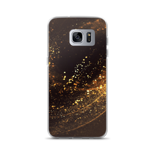 Samsung Galaxy S7 Edge Gold Swirl Samsung Case by Design Express