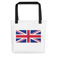 "Black United Kingdom Flag ""Solo"" Tote bag Totes by Design Express"