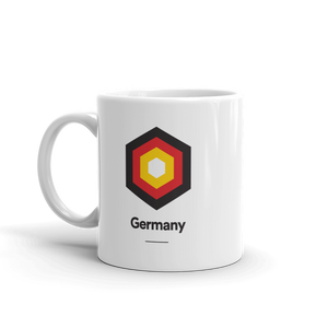 "Germany ""Hexagon"" Mug Mugs by Design Express"