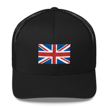 "United Kingdom Flag ""Solo"" Trucker Cap"
