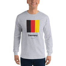 "Sport Grey / S Germany ""Block"" Long Sleeve T-Shirt by Design Express"