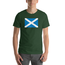 "Forest / S Scotland Flag ""Solo"" Short-Sleeve Unisex T-Shirt by Design Express"