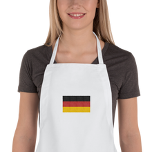 "Germany Flag ""Solo"" Embroidered Apron"