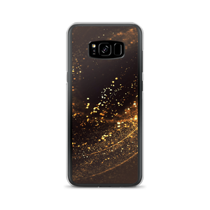 Samsung Galaxy S8+ Gold Swirl Samsung Case by Design Express