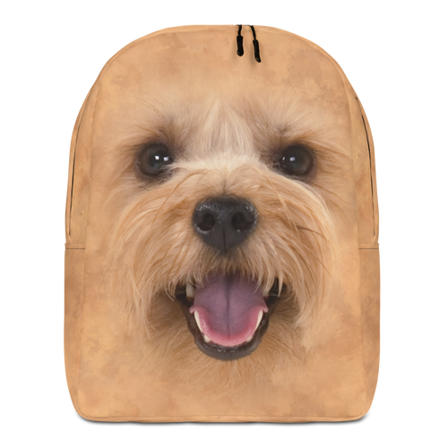 Default Title Yorkie Dog Minimalist Backpack by Design Express