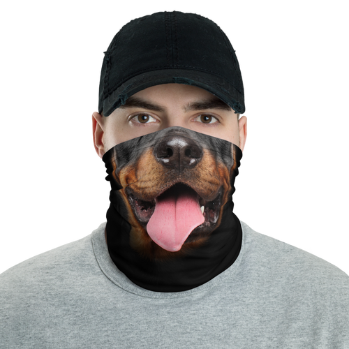 Default Title Rottweiler Dog Neck Gaiter Masks by Design Express