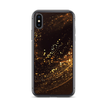 iPhone X/XS Gold Swirl iPhone Case by Design Express