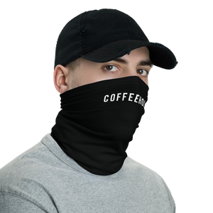 #COFFEEHOLIC Hashtag Neck Gaiter Masks by Design Express