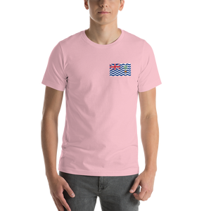 Pink / S British Indian Ocean Territory Unisex T-Shirt by Design Express