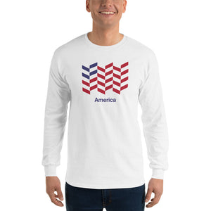 "America ""Barley"" Long Sleeve T-Shirt"