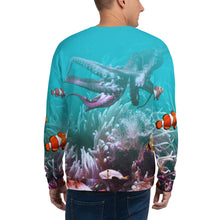 "Sea World ""All Over Animal"" Unisex Sweatshirt by Design Express"