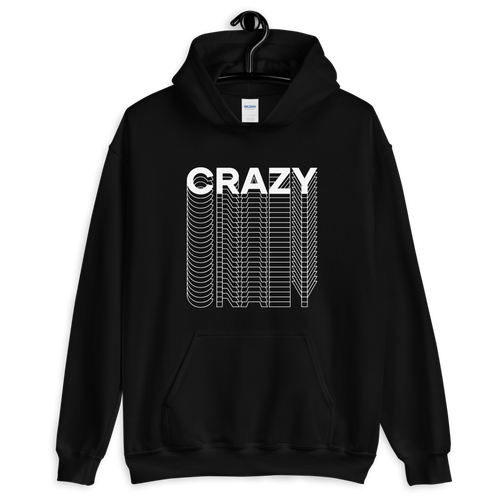 S Crazy Layered Unisex Hoodie by Design Express