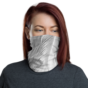 Default Title White Feathers Neck Gaiter Masks by Design Express