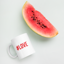 "Hashtag #LOVE ""Red or Dead"" Mug Mugs by Design Express"