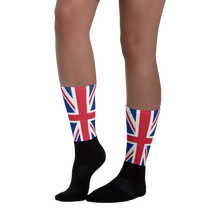 "United Kingdom Flag ""Solo"" Socks by Design Express"
