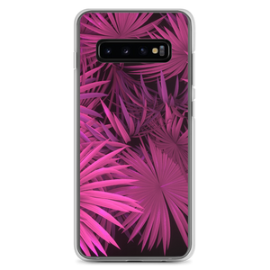 Samsung Galaxy S10+ Pink Palm Samsung Case by Design Express