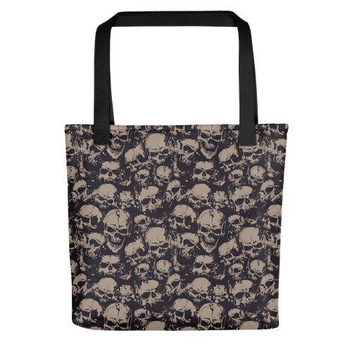 Default Title Skull Pattern Tote bag by Design Express