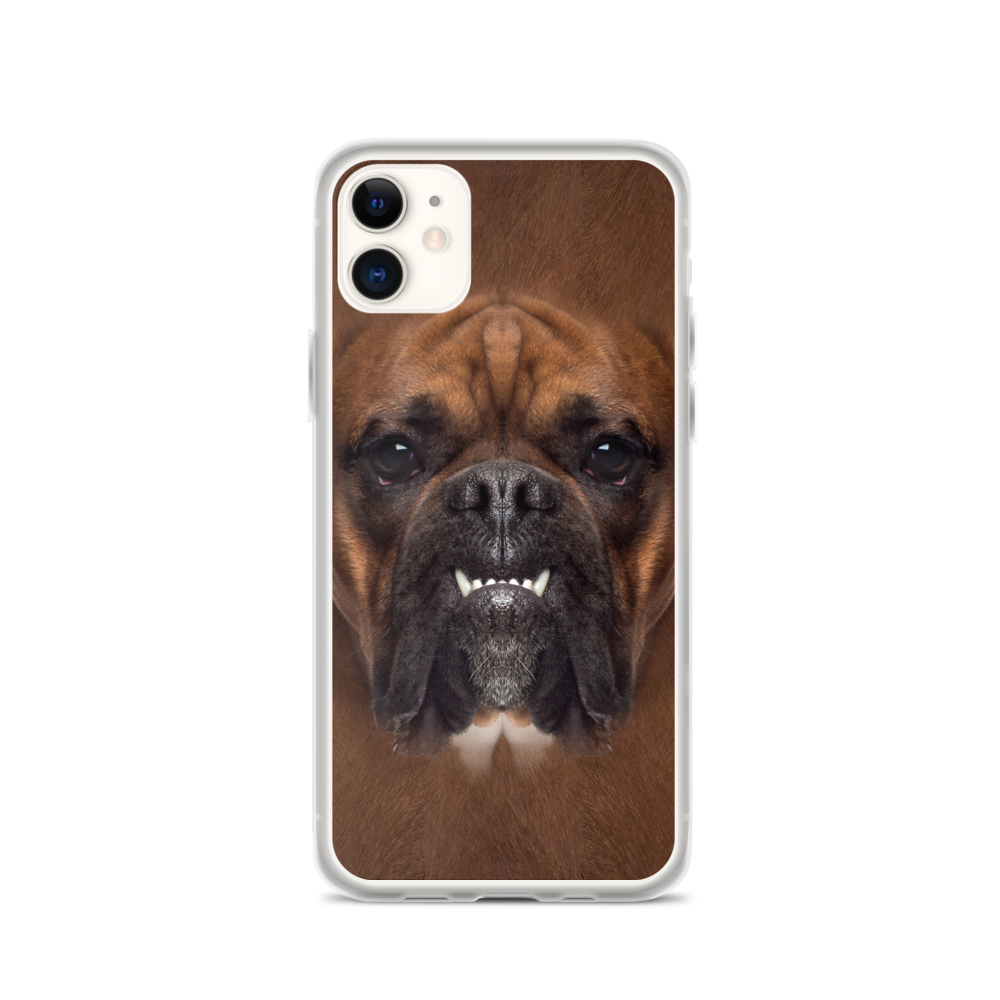 iPhone 11 Boxer Dog iPhone Case by Design Express