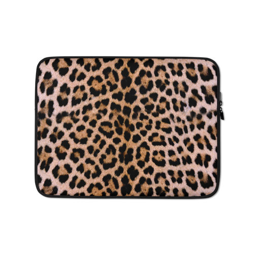 13 in Leopard Print Laptop Sleeve by Design Express