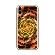 Abstract Flower 01 iPhone Case by Design Express