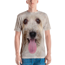 "XS Bichon Havanese 02 ""All Over Animal"" Men's T-shirt All Over T-Shirts by Design Express"