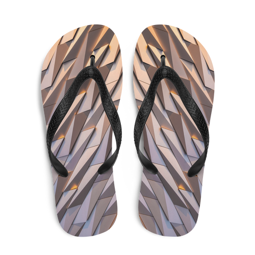 Abstract Metal Flip-Flops by Design Express