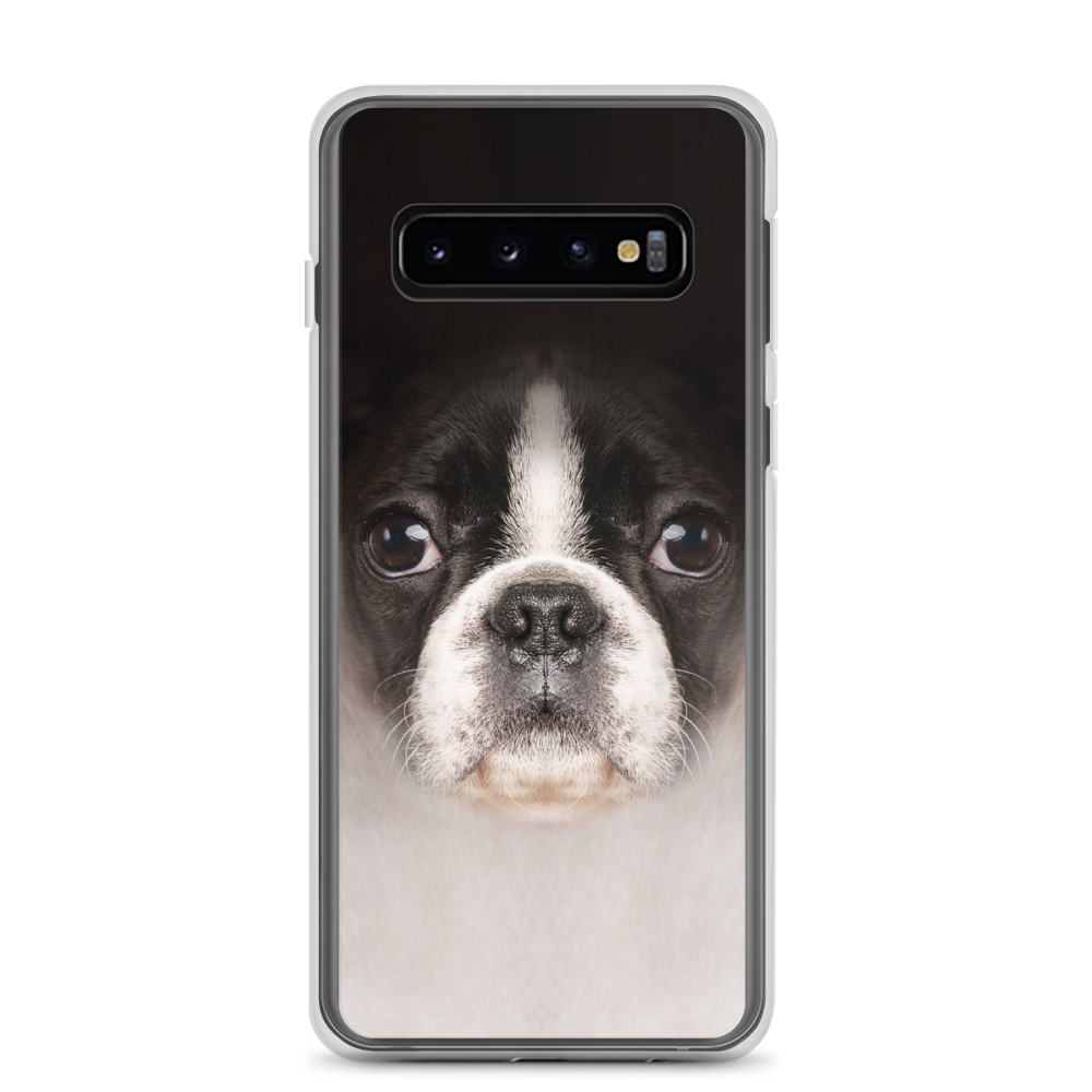 Samsung Galaxy S10 Boston Terrier Dog Samsung Case by Design Express