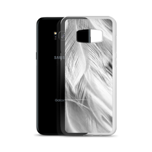 White Feathers Samsung Case by Design Express