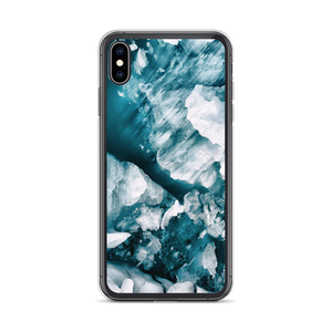 iPhone XS Max Icebergs iPhone Case by Design Express
