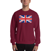 "United Kingdom Flag ""Solo"" Sweatshirt"