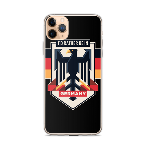 iPhone 11 Pro Max Eagle Germany iPhone Case by Design Express