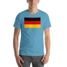 Ocean Blue / S Germany Flag Short-Sleeve Unisex T-Shirt by Design Express