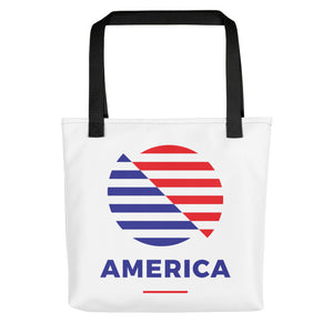 "Default Title America ""The Rising Sun"" Tote bag Totes by Design Express"