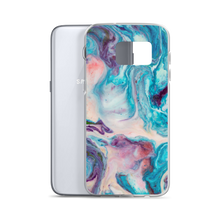 Blue Multicolor Marble Samsung Case by Design Express
