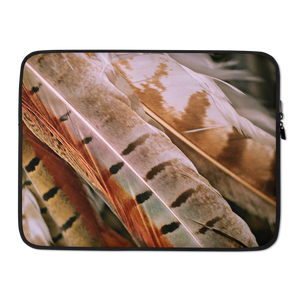 15 in Pheasant Feathers Laptop Sleeve by Design Express